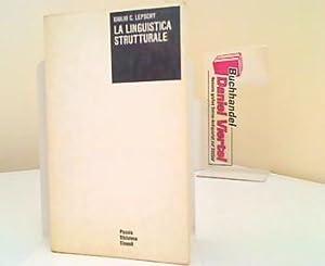 La linguistica strutturale.: Lepschy, Giulio C.: