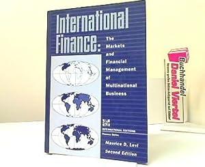 International Finance: The Markets and Financial Management: D. Levi, Maurice: