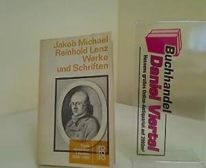 Werke und Schriften. Jakob Michael Reinhold Lenz.: Lenz, Jakob Michael
