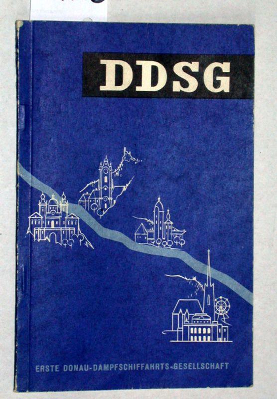 Handbuch der Donaureisen. DDSG.