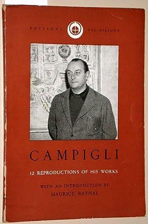 12 paintings by Massimo Campigli. With an: Campigli, Massomo; Raynal,
