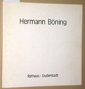 Hermann Böning. Skulptur - Malerei. 26.05. -: Hermann Böning