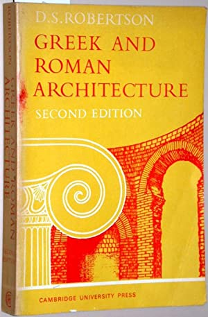 Greek and roman architekture. Second edition.