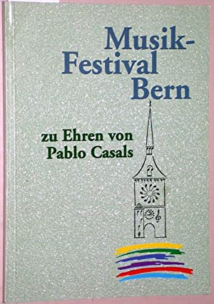 Museik-Festival Bern zu Ehren von Pablo Casals.: Tobel, Helga von
