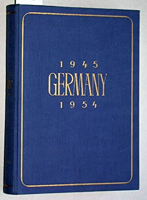 Germany 1945- 1954.: Boas, William S.: