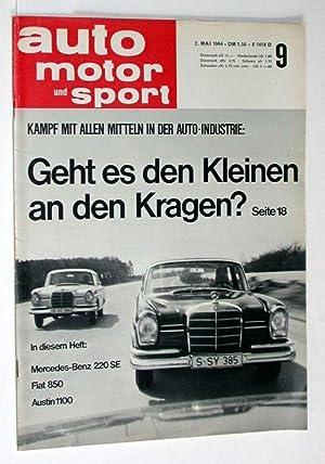 Auto Motor und Sport. 2. Mai 1964.: Zeitschrift: