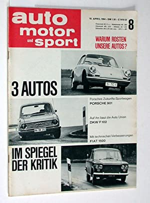 Auto Motor und Sport. 18. April 1964.: Zeitschrift: