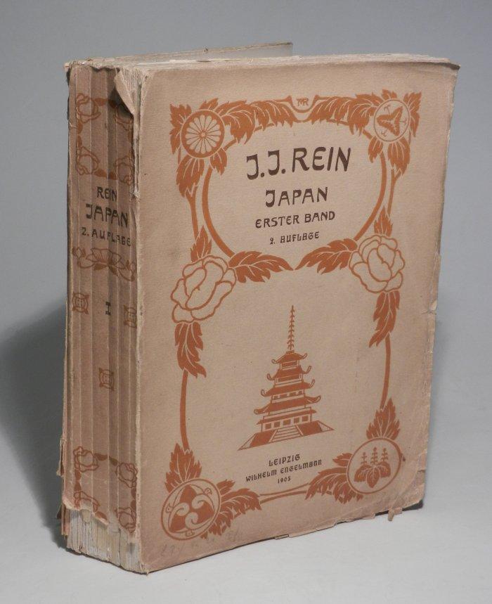 Japan nach Reisen und Studien im Auftrage: Rein, J. J.