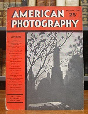 American Photography. Issue March 1941, Vol. XXXV, No. 3.