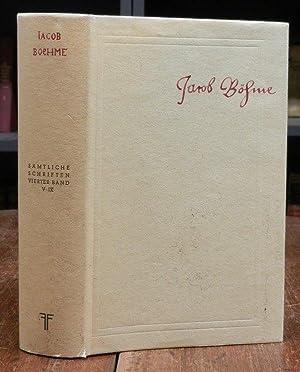 Sämtliche Schriften. Faksimile-Neudruck der Ausgabe von 1730: Böhme, Jacob: