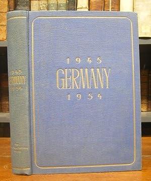 Germany 1945 / 1954. Mit zahlreichen Abb.: Boas, William S.