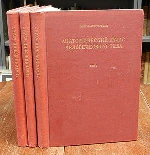 Atlas Anatomiae Corporis Humani. Tom. 1-3 cplt.: Kiss, Franciscus /