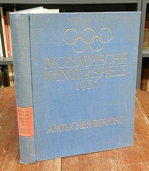 IV. Olympische Winterspiele 1936. Garmich Partenkirchen, 6.: Olympia 1936 -