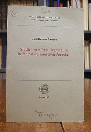 Studien zum Partitivgebrauch in den ostseefinnischen Sprachen.: Larsson, Lars-Gunnar: