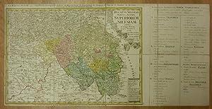 Ducatus Silesiae Tabula Altera Superiorem Silesiam exhibens: Schlesien/Slask - Homann
