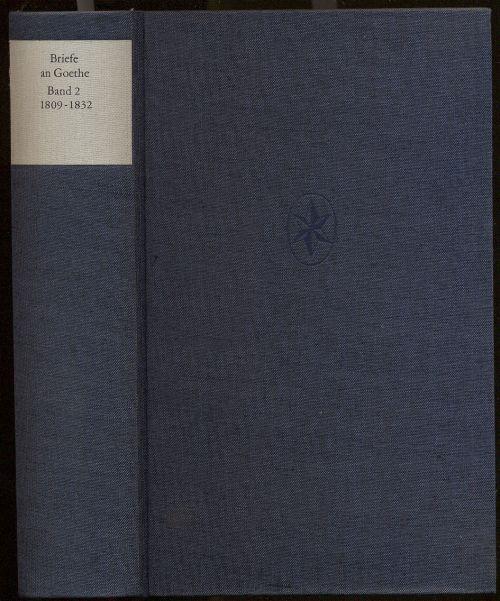 Briefe Von Goethe : Briefe an goethe von zvab