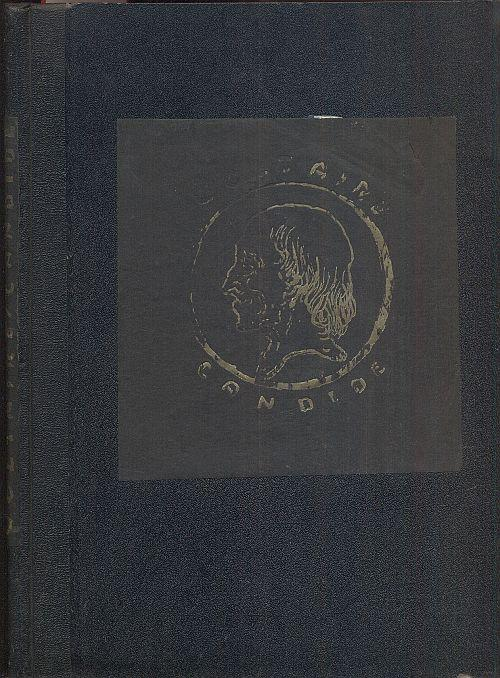 Candide. Eine Erzählung. Mit achtundzwanzig Federzeichnungen von: Voltaire