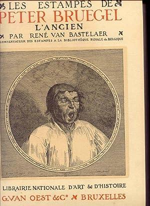 Les estampes de Peter Bruegel l'Ancien.: Van Bastelaer, René