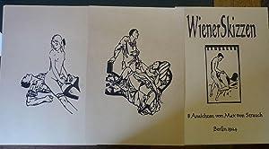 Wiener Skizzen. 8 Ansichten von Max von: Strauch, Max von