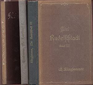 Mei Rudelschtadt. Gesammelte Dichtungen in heimischer Mundart.1.-3.: Klinghammer, Waldemar