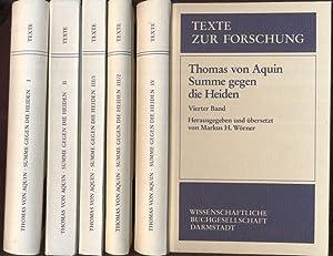 Thomae Aquinatis Summae contra gentiles libri quatuor.: Thomas von Aquin