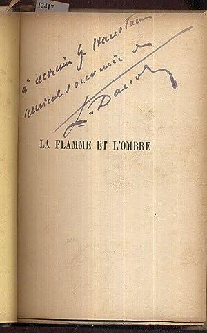 La flamme et l'ombre. Roman contemporain.: Daudet, Léon A.