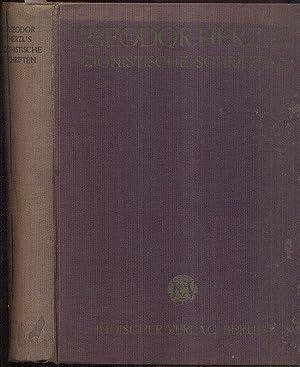 Zionistische Schriften. Hrsg. von Leon Kellner. 2: Herzl, Theodor