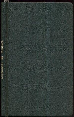 Di mensura tragoediarum. Liber singularis.: Lachmannus, Carolus (Lachmann,