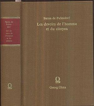 Les devoirs de l'homme et du citoyen,: Pufendorf, Samuel