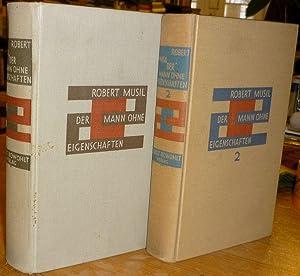 Der Mann ohne Eigenschaften. Roman. 2 Bände.: Musil, Robert (Edler
