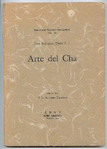 Arte del Cha.: Rodriguez, Juan (Tsuzu) S. J.: