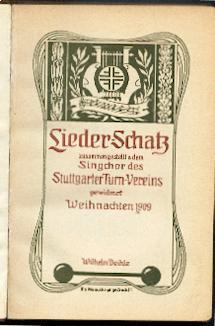 Lieder-Schatz.: Deihle, Wilhelm: