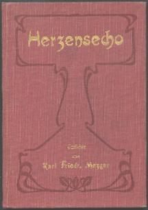Herzensecho.: Mezger, Karl Friedrich: