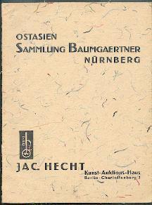 Ostasien-Sammlung Baumgärtner, Nürnberg.