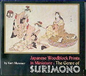 Japanese woodblock prints in miniature: The genre: Meissner, Kurt: