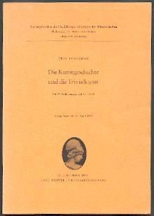 Die Kunstgeschichte und die Trivialkunst.: Forssman, Erik: