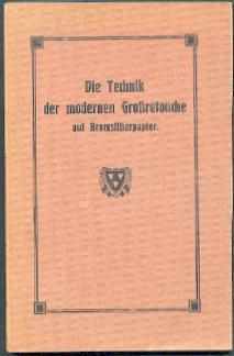 Die Technik der modernen Großretouche auf Bromsilberpapier.: Boblenz, M. (Hrsg.):