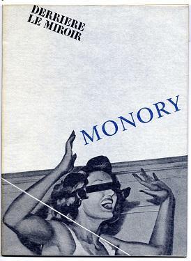 Opéras glacés.: Monory, Jacques:
