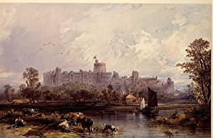 Schloß Windsor.: Hildebrandt, E[duard] (1817-1868):