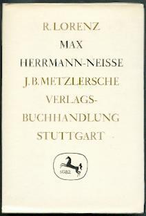 Max Herrmann-Neisse.: Lorenz, Rosemarie: