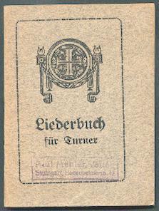 Liederbuch für Turner.