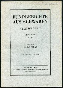 Fundberichte aus Schwaben.