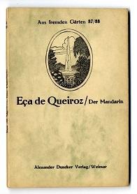 Der Mandarin.: Eca de Queiroz, José Maria: