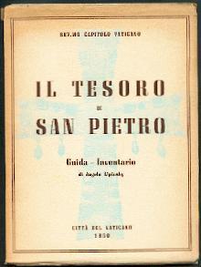 Il tesoro di S. Pietro.: Lipinsky, Angelo: