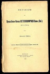 Revision des Dynastinen-Genus Heterogomphus Burm. (Col).: Prell, Heinrich: