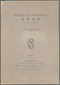 Sangyo-Hokoku.: Hammitzsch, Horst: