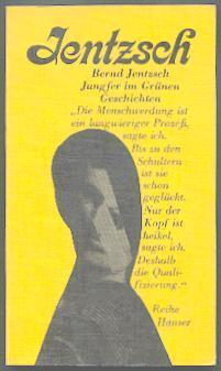 Jungfer im Grünen.: Jentzsch, Bernd: