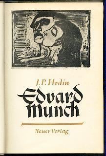 Edvard Munch.: Hodin, J. P.: