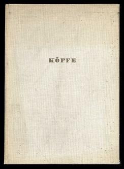 Köpfe.: Krauss, Friedrich Emil: