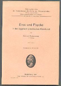 Eros und Psyche in der ägyptisch-griechischen Kleinkunst.: Reitzenstein, Richard: